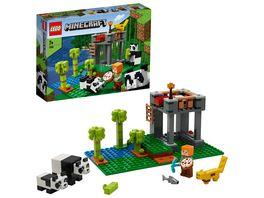 LEGO Minecraft 21158 Der Panda Kindergarten