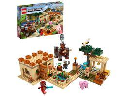 LEGO Minecraft 21160 Der Illager Ueberfall