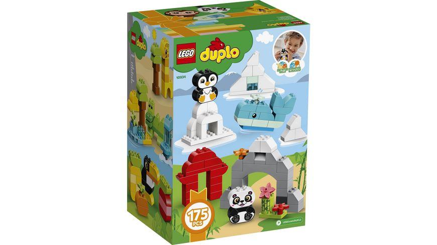 LEGO DUPLO Bausteine 10934 Grosser Tierspass