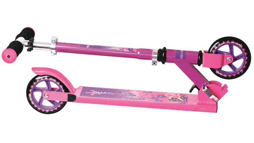 Authentic Aluminium Scooter Muuwmi 125mm LILA PINK