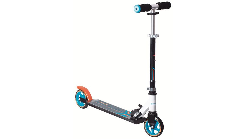 Authentic Aluminium Scooter Muuwmi 125mm ORANGE BLAU SCHWARZ