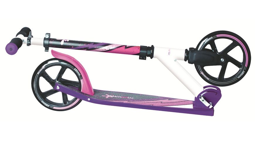 Authentic Aluminium Scooter Muuwmi 205mm LILA PINK SCHWARZ