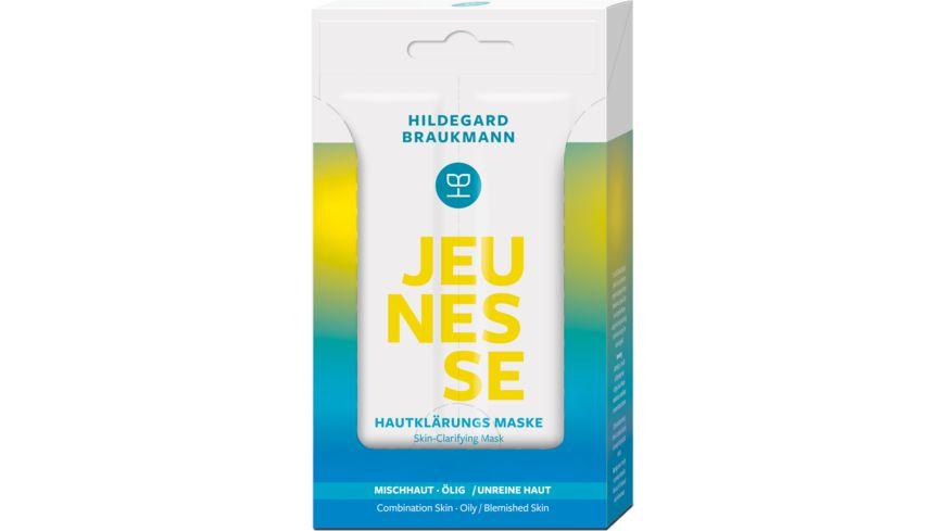 HILDEGARD BRAUKMANN JEUNESSE Hautklaerungs Maske