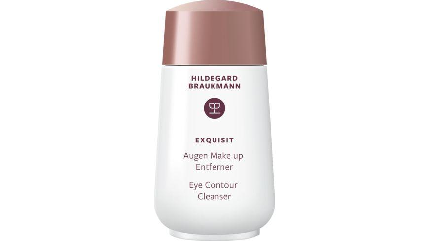 HILDEGARD BRAUKMANN exquisit Augen Make up Entferner