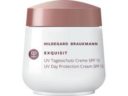 HILDEGARD BRAUKMANN exquisit UV Tagesschutz Creme SPF 15