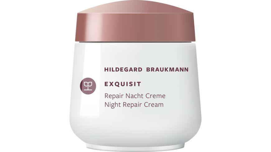 HILDEGARD BRAUKMANN exquisit Hyaluron Repair Creme Nacht