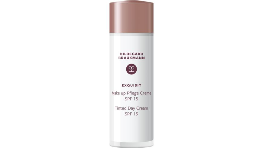 HILDEGARD BRAUKMANN exquisit Make up Pflege Creme SPF 15