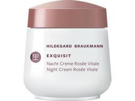 HILDEGARD BRAUKMANN exquisit Creme Rosee Vitale Nacht