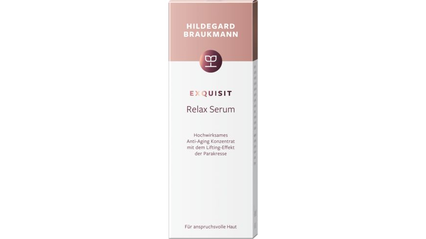 HILDEGARD BRAUKMANN exquisit Relax Serum