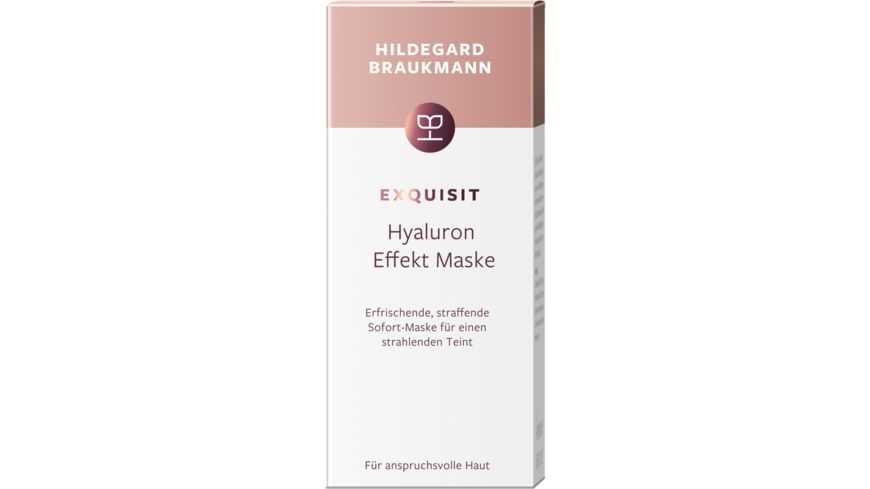 HILDEGARD BRAUKMANN exquisit Hyaluron Effekt Maske