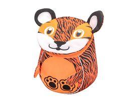 Belmil Kindergartenrucksack MINI ANIMALS Mini Tiger