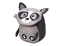 Belmil Kindergartenrucksack MINI ANIMALS Mini Raccoon