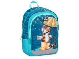 Belmil Vorschulrucksack KIDDY Bag Tiger