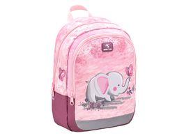 Belmil Vorschulrucksack KIDDY Bag Pink Elephant