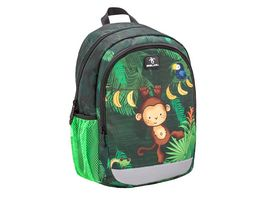 Belmil Vorschulrucksack KIDDY PLUS Bag Jungle2020