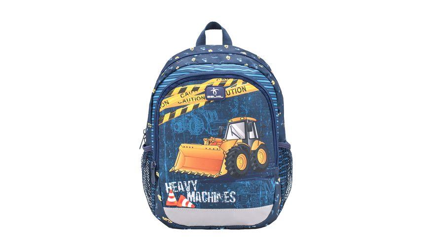 Belmil Vorschulrucksack KIDDY PLUS Bag Heavy Machinery