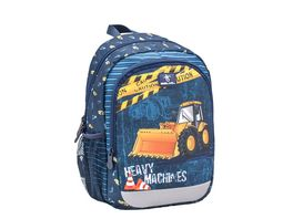 Belmil Vorschulrucksack KIDDY PLUS Bag Heavy Machinery