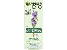 GARNIER BIO Regenerierender Lavendel Anti Falten Augenpflege