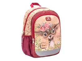 Belmil Vorschulrucksack KIDDY PLUS Bag Animal Forest Bambi