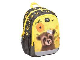 Belmil Vorschulrucksack KIDDY PLUS Bag Animal Forest Bear