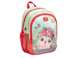 Belmil Vorschulrucksack KIDDY PLUS Bag Animal Forest Hedgehog