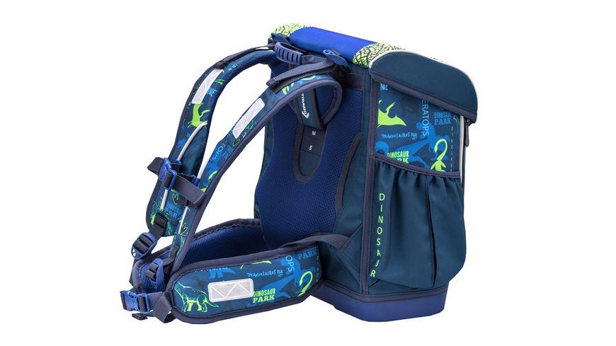 JOLLY Belmil Customize Me Dino Triceratops 60teiliges Schultaschen Set