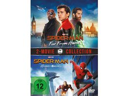 Spider Man Far from home Spider Man Homecoming 2 DVDs