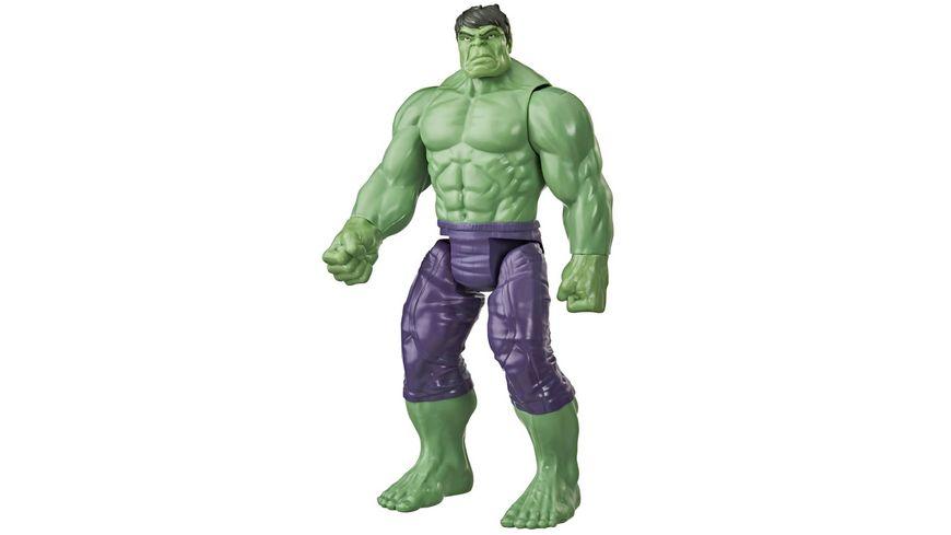 Hasbro Marvel Avengers Titan Hero Serie Blast Gear Deluxe Hulk Action Figur 30 cm grosses Spielzeug inspiriert durch die Marvel Comics Fuer Kinder ab 4 Jahren