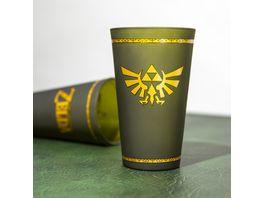 Zelda Glas Hyrule Crest