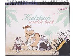 NICI Kratzbuch Wild Friends