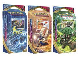 Pokemon Sammelkartenspiel Schwert Schild Themendeck 1 Stueck sortiert