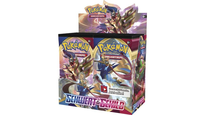 Pokemon Sammelkartenspiel Schwert Schild Boosterpack