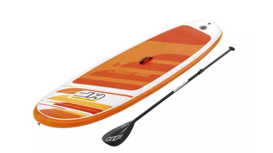"Bestway - HYDRO FORCE Sup Allround Board-Set ""Aqua Journey"" 274 x 76 x 12 cm mit Paddel"