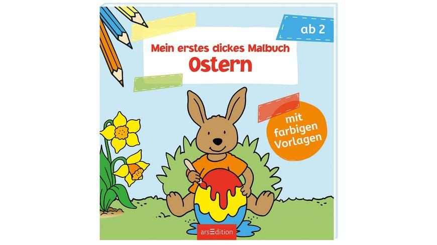 Mein erstes dickes Malbuch Ostern