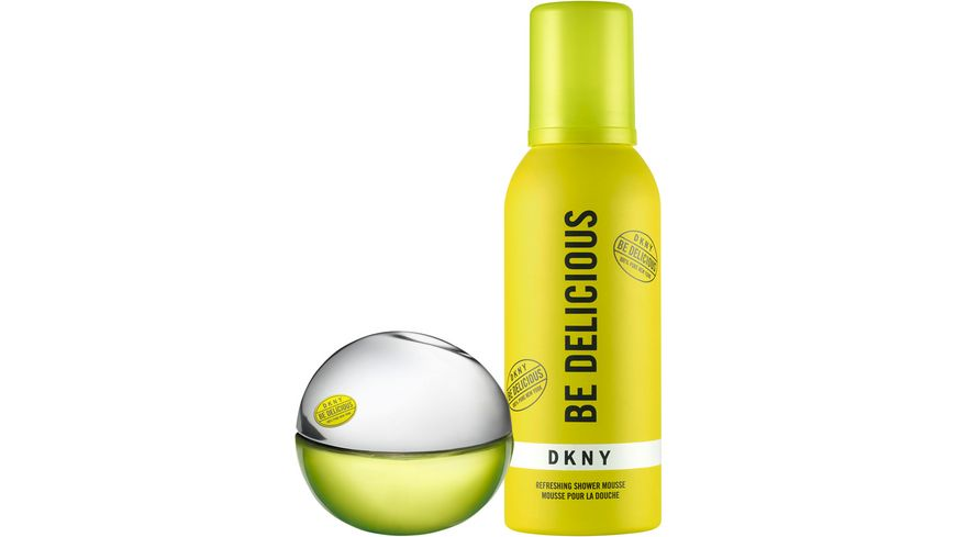 DKNY Be Delicious Summer Set mit Shower Mousse