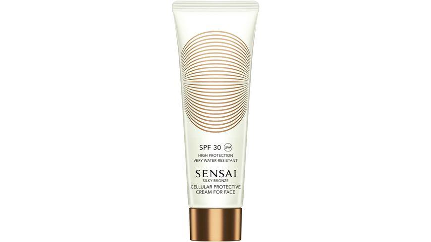 SENSAI CELLULAR PROTECTIVE Silky Bronze Cream for Face SPF 30