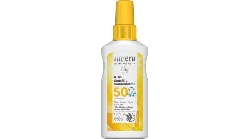 lavera Sensitiv Sonnenlotion KIDS LSF 50