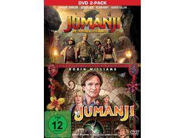 Jumanji Jumanji Willkommen im Dschungel 2 DVDs