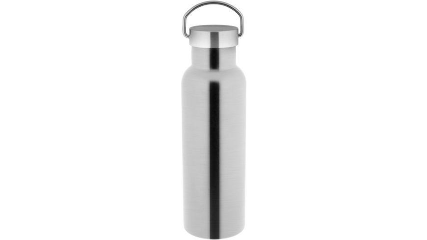 TESTRUT Isolier-/Trinkflasche Edelstahl 0,6l