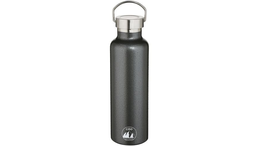 CILIO Isolierflasche GRIGIO 0,75 Liter Edelstahl