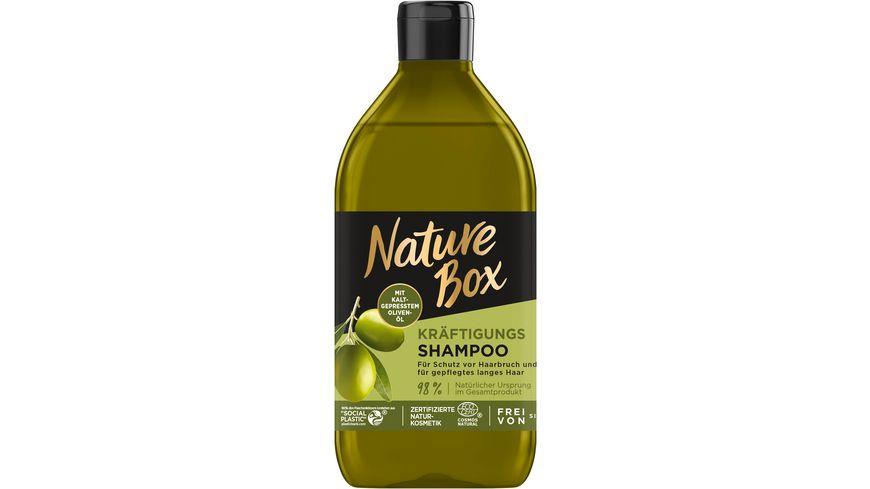 NATURE BOX Kräftigungs Shampoo Oliven-Öl
