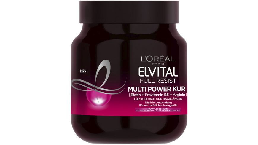 L OREAL PARIS ELVITAL Full Resist Multi Power Kur