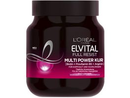 L OREAL PARIS ELVITAL Full Resist Multi Power Kur