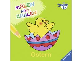 Malen nach Zahlen junior Ostern