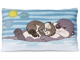 NICI Kissen Otter Mama Oda und Kind Odalina