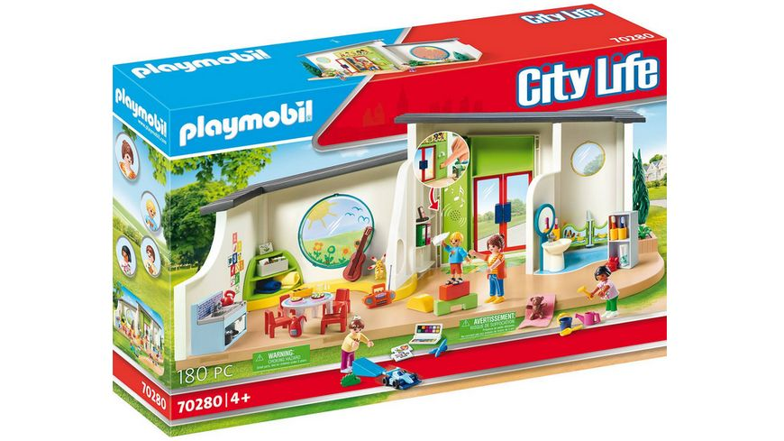PLAYMOBIL 70280 City Life KiTa Regenbogen