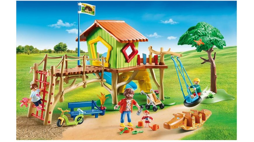 PLAYMOBIL 70281 City Life Abenteuerspielplatz