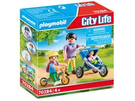 PLAYMOBIL 70284 City Life Mama mit Kindern