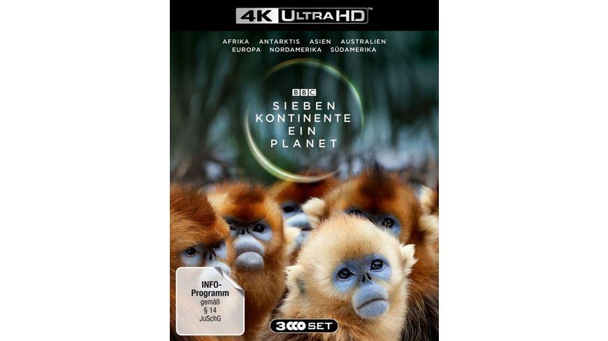 Sieben Kontinente Ein Planet 4K UHD 3 BR4Ks