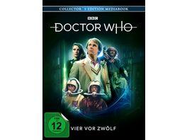Doctor Who Fuenfter Doktor Vier vor Zwoelf ltd Mediabook 3 BRs